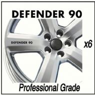 LANDROVER DEFENDER 90 CAR WHEEL DECALS